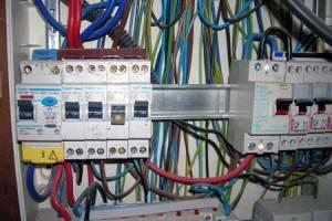 Elektros darbai. Signalizacijos irengimas