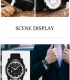 OUBAOER patrauklus ir išskirtinis klasikinis laikrodis