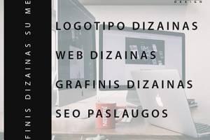 Grafinis dizainas, Web dizainas, SEO, Reklamos dizainas, Maketavimas