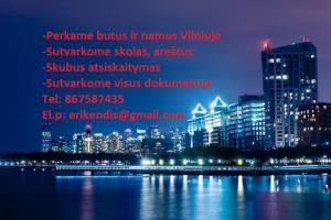Perkame butus, namus Vilniuje ir aplink