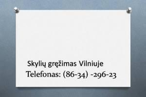 skyliu grezimas Vilniuje 863429623
