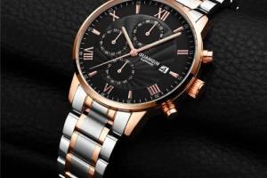 GUANQIN laikrodis išsiskiriantis iš standartinių laikrodžių būrio firminėje dėžutėje
