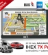 """2019 metų NAUJAUSIAS GPS navigacijos modelis IHEX 7X Pro, 7"""" ekranas, navigacija sunkvežimiui"""