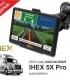 """2019 metų NAUJAUSIAS GPS navigacijos modelis IHEX 5X Pro, 5"""" ekranas, navigacija sunkvežimiui"""