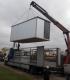 Statybinis konteinerinis vagonėlis