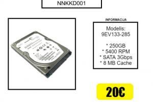 Naudotas nešiojamo komiuterio kietasis diskas (HHD)