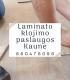 Laminato klojimo paslaugos Kaune